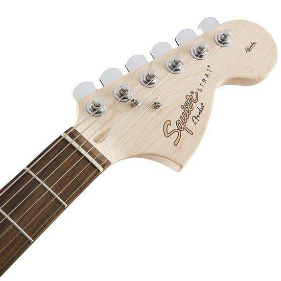 mat truoc can dan guitar squier bullet stratocaster hss w trem brown sunburst