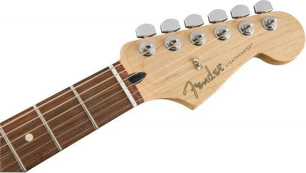 can dan guitar dien fender player stratocaster hss pf polar white