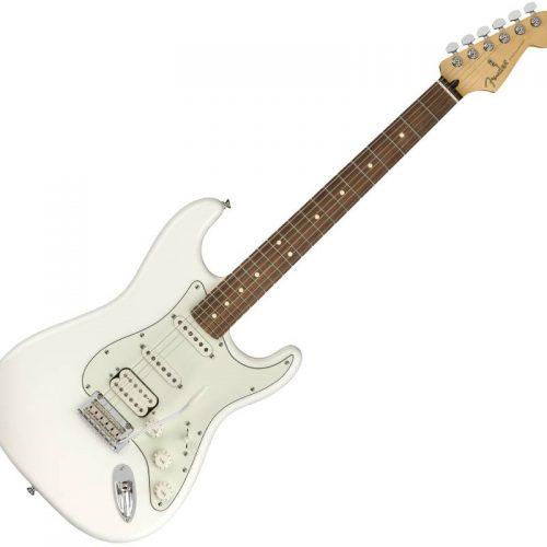 Fender Player Stratocaster HSS, PF, Polar White