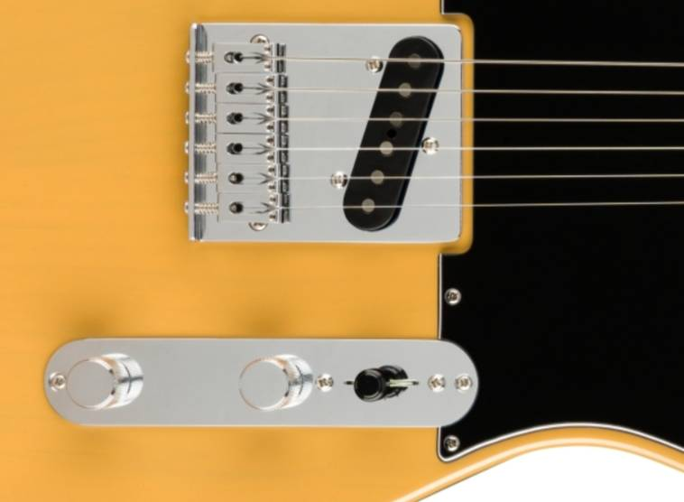 he thong am sac guitar dien fender player telecaster mn butterscotch blonde