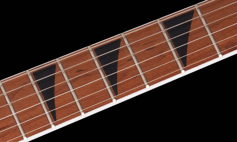 can dan guitar dien jackson series dinky arch top js24 dkam red stain
