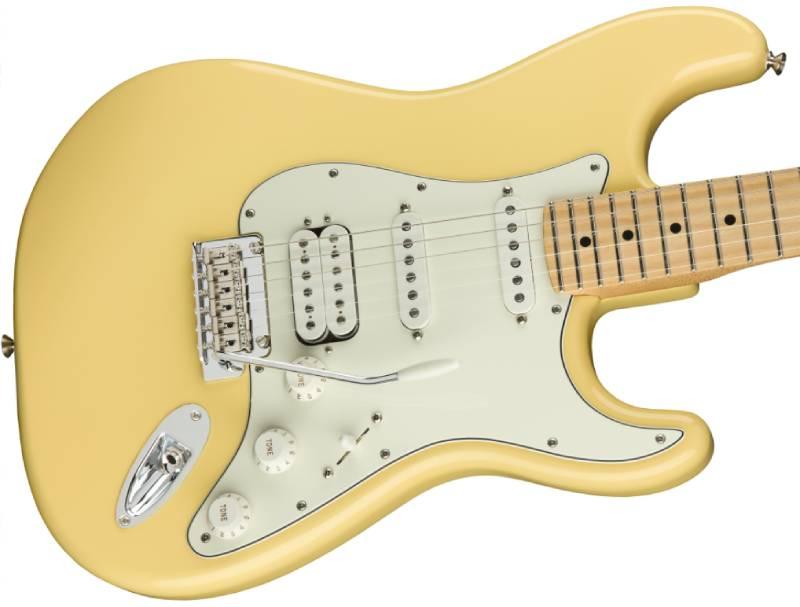 than dan guitar dien fender player stratocaster hss mn buttercream