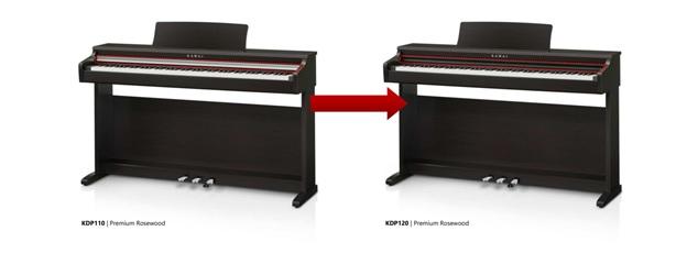 dan piano Kawai KDP-120
