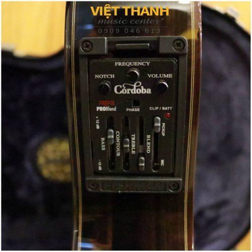eq guitar Cordoba 55FCE