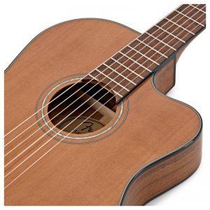lo that am guitar Fender CN-140SCE NAT