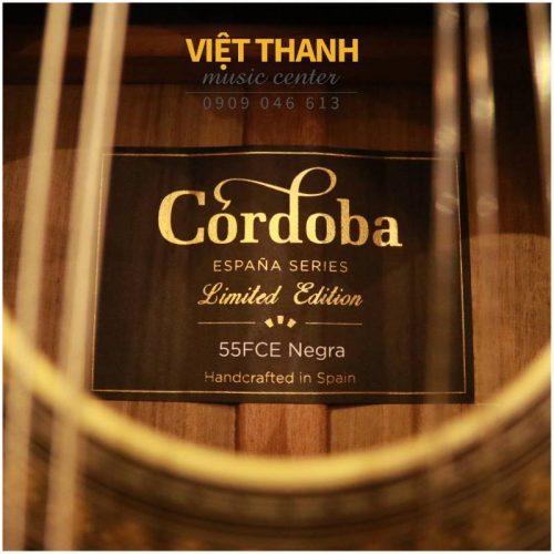 logo guitar Cordoba 55FCE