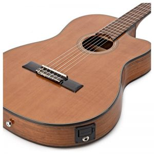 thung dan guitar Fender CN-140SCE NAT