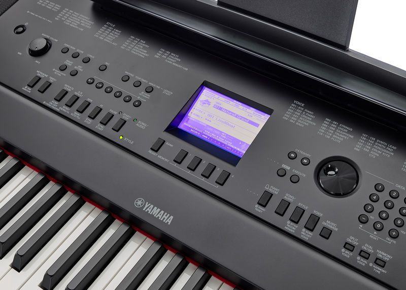 giao dien piano dien Yamaha DGX-660