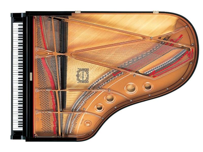 khung dan grand piano Yamaha C3X