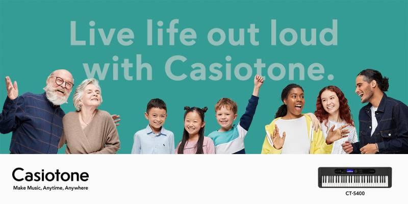 organ Casiotone CT-S400