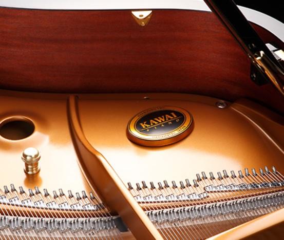 bo may ben trong dan grand piano kawai gx-6