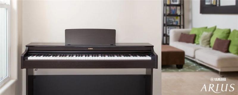 cong nghe ban phim tren piano dien Yamaha YDP-103
