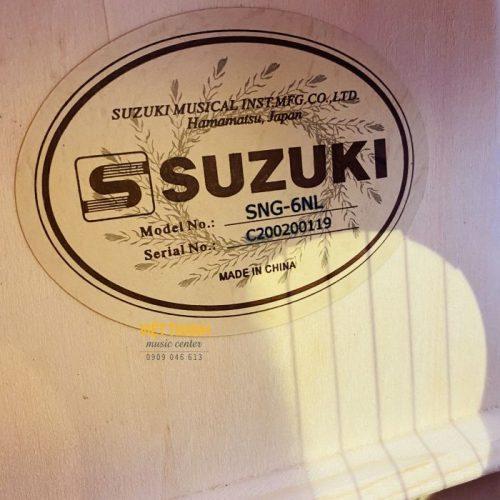 mat trong guitar Suzuki SNG 6NL