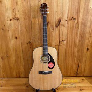 mat truoc guitar Fender CD-60S