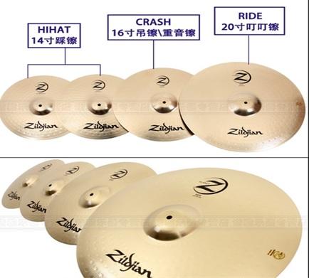 la Cymbal Zildjian PLZ4PK