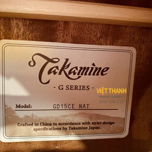 tem guitar Takamine GD15CE