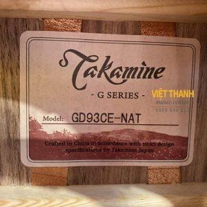 tem guitar Takamine GD93CE