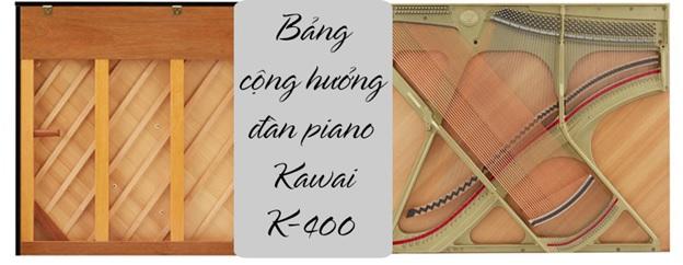 bảng cộng hưởng piano kawai k400
