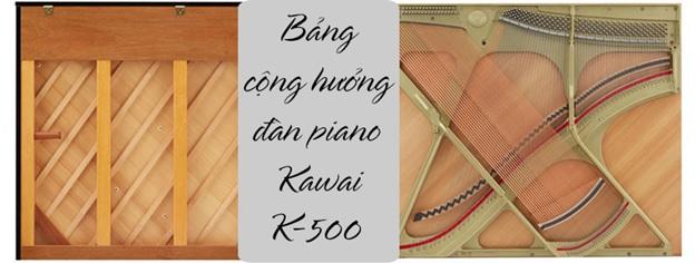 bảng cộng hưởng piano kawai k500