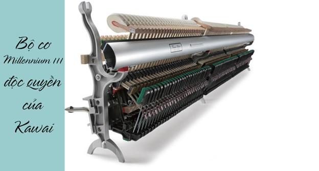 bộ máy cơ piano kawai k500