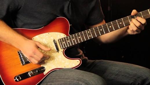 dan guitar dien fender TELECASTER