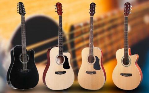 Các loại đàn guitar và những thương hiệu guitar nổi tiếng