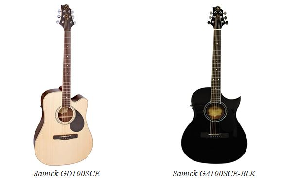 dan guitar samick