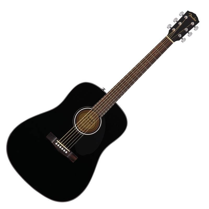 guitar Fender CD-60S mau den