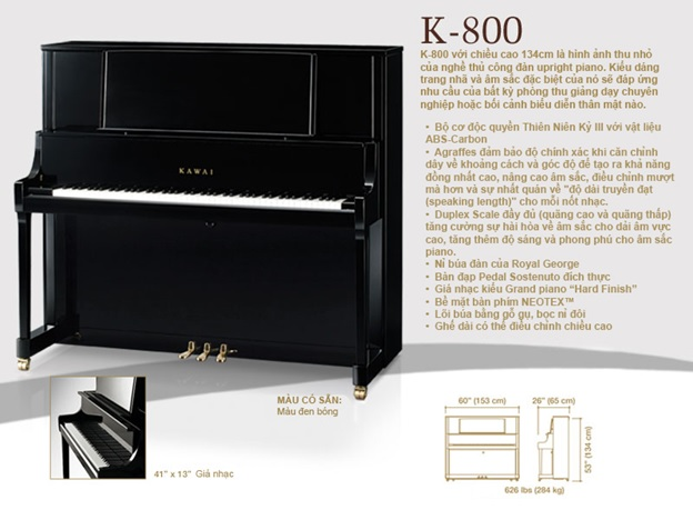 kawai k800 piano