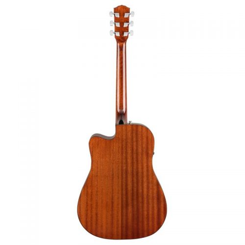 mat sau guitar Fender CD-60SCE mau go