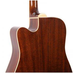 mat sau guitar Greg Bennett GD-100SCE