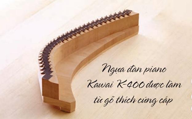 ngựa đàn piano kawai k400