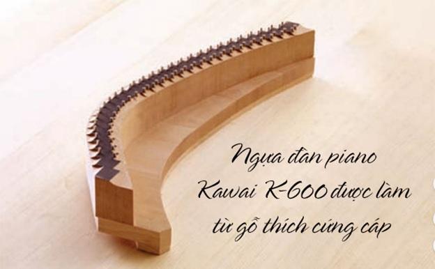 ngua dan piano kawai k600
