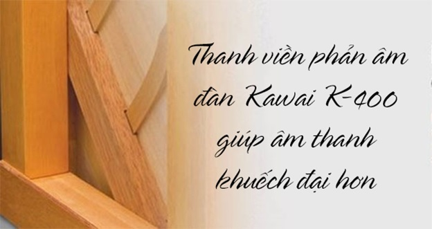 thanh viền phản âm kawai k400