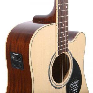 thung dan guitar Greg Bennett GD-100SCE