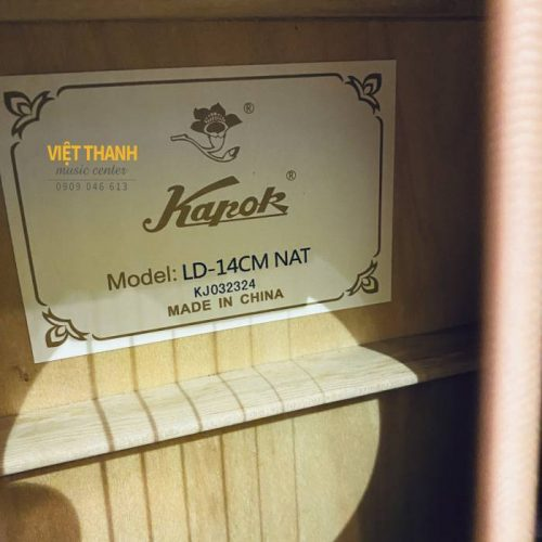mat trong guitar Kapok LD-14C