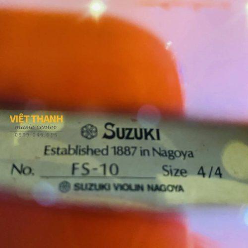 nhan hang tren dan violin Suzuki FS-10 44