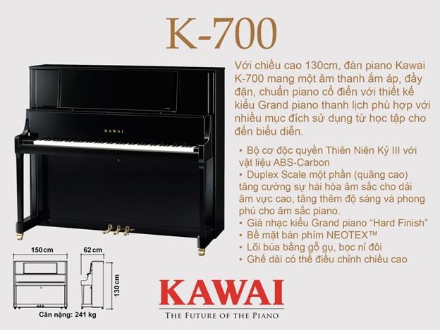 piano kawai k700