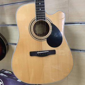 thung dan guitar Greg Bennett GD-101SCE