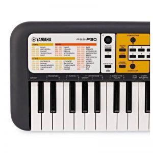 ban phim ben trai organ Yamaha PSS F30