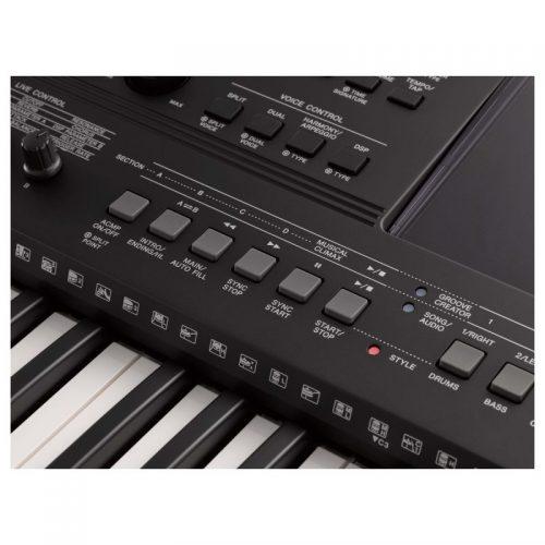 ban phim organ Yamaha PSR-E463