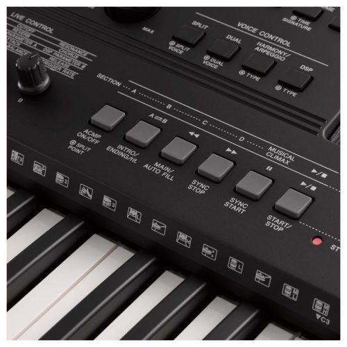 bang dieu khien organ Yamaha PSR-EW410