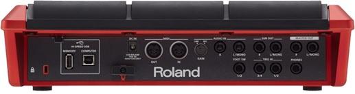 bang dieu khien trong Roland SPD-SX Special Edition