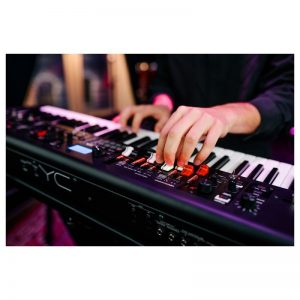 bieu dien tren keyboard Yamaha YC61