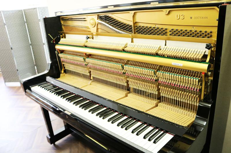 bo may co piano yamaha u3m