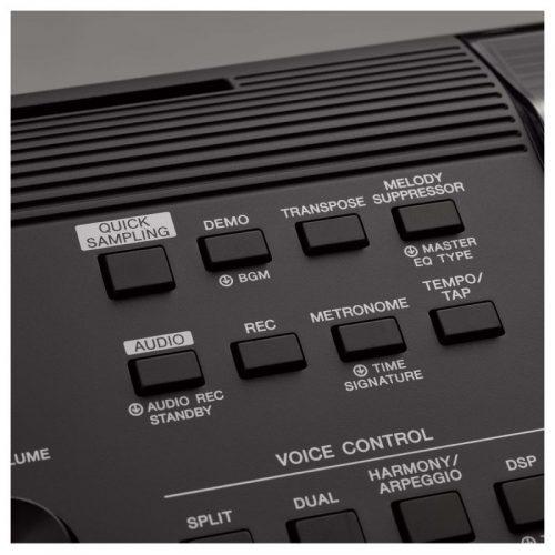 cho dieu khien tren organ Yamaha PSR-EW410