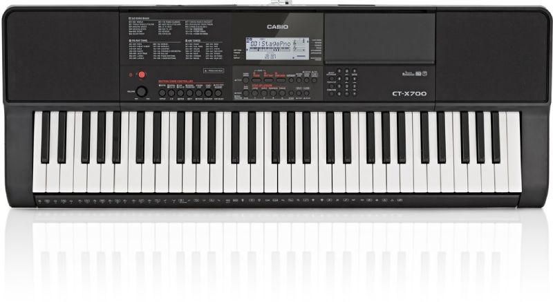 dan keyboard casio ct-x700
