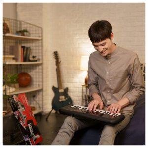 dan keyboard hoc tap Yamaha PSS-A50