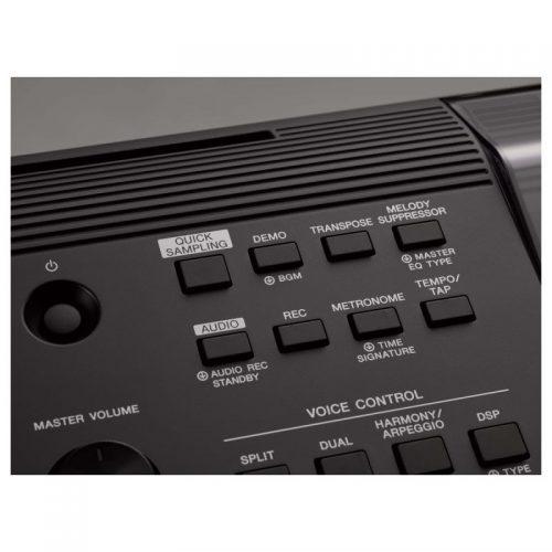 nut dieu khien tren organ Yamaha PSR-E463