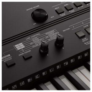 nut dieu khien tren organ Yamaha PSR-EW410